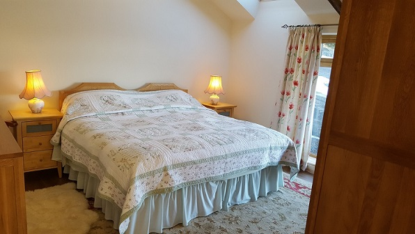 Willow View near Hexham accommodation for 2 people in quiet rural location - Northumberland North East England uk